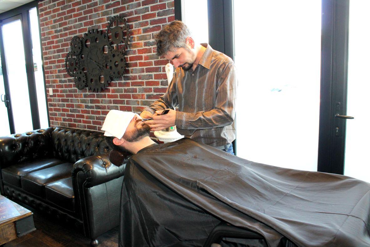 gentlemen only Le salon coiffure et bardier pour les hommes sur Brest