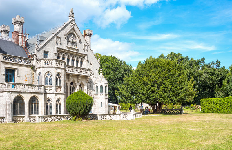Le château de Keriolet est un joyau de l'architecture du XIXe siècle