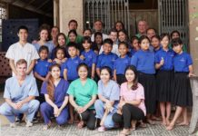 Dernière matinée au dispensaire - Mission humanitaire Cambodge