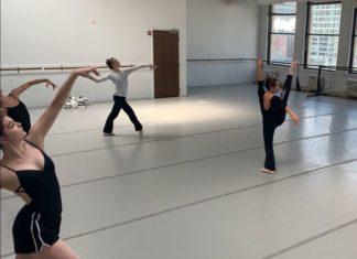une danseuse finistérienne à Chicago