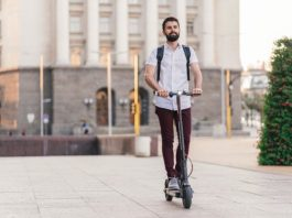 Trottinette gyropode skateboard