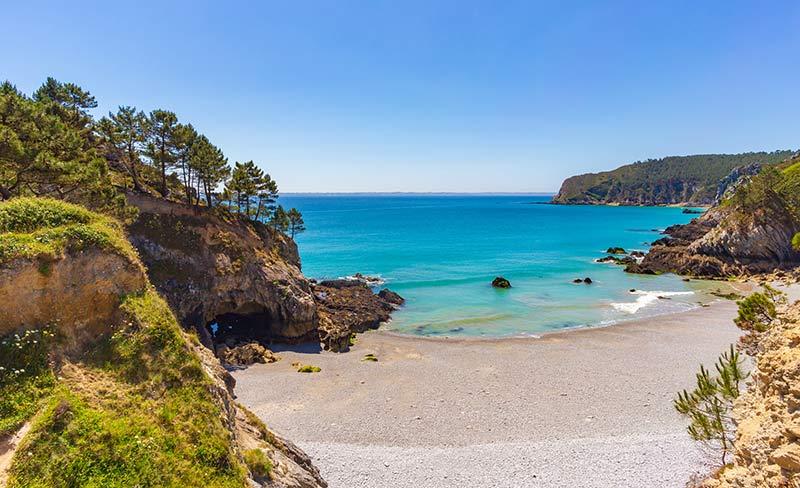 Road Trip en Finistère : Presqu'île de Crozon et la plage de l'île Vierge