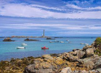 Plouguerneau phare de l'île vierge