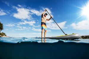 Découvrir le Finistère en paddle