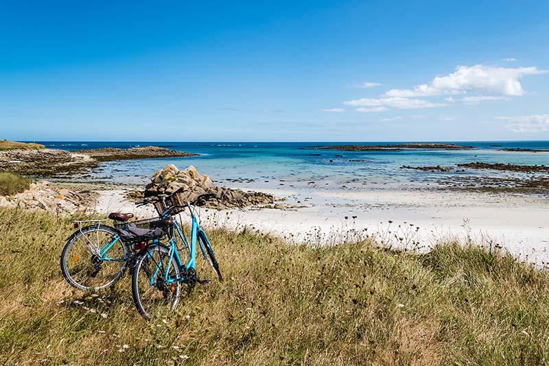 Faire du vélo dans le Finistère