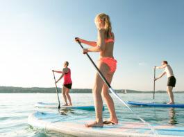 Randonnée en paddle