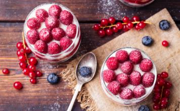 Tiramisu fruits rouges et spéculoos