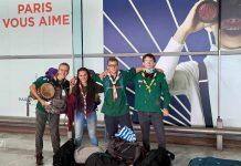 Compasd'Breizh à l'aéroport